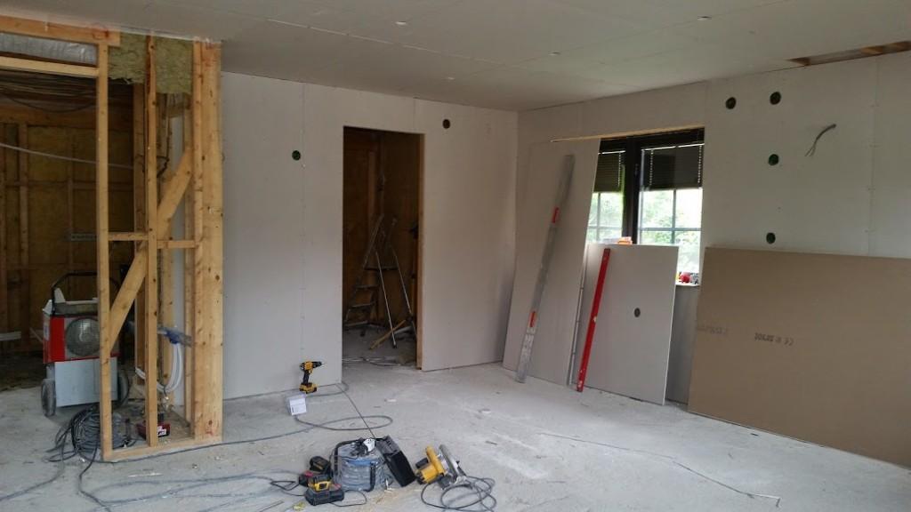 30. Byggnation på börjad