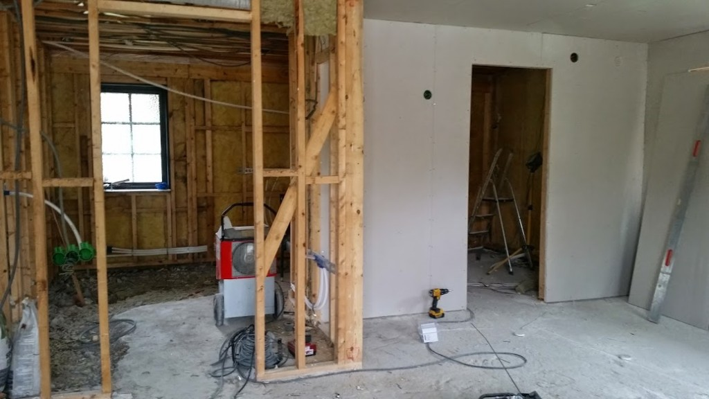 31 Byggnation på börjad