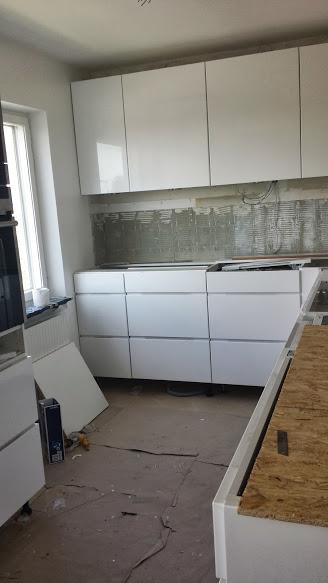 6 Kök under uppbyggnad